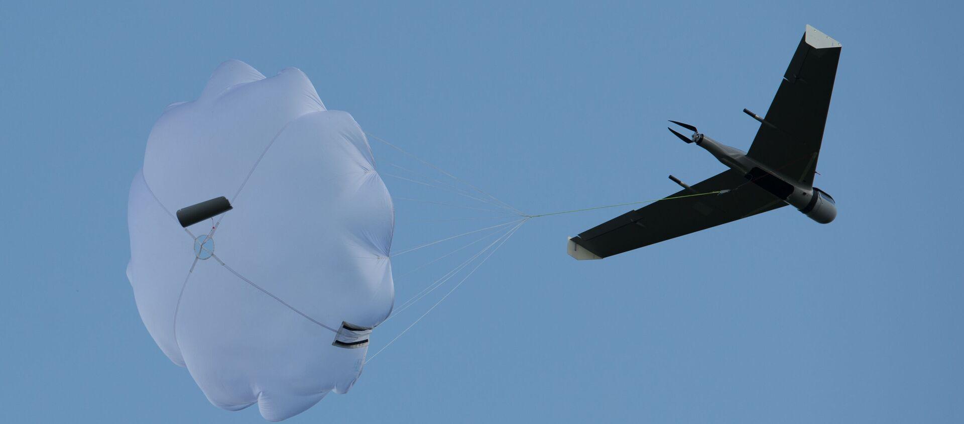 Máy bay không người lái trình diễn tại tỉnh Moskva - Sputnik Việt Nam, 1920, 08.03.2021