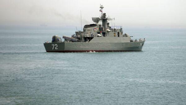 Tàu chiến của Hải quân Iran - Sputnik Việt Nam