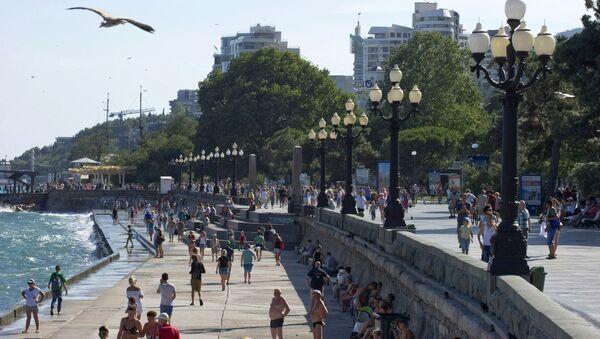 Thành phố bờ  biển Yalta ở Crưm - Sputnik Việt Nam