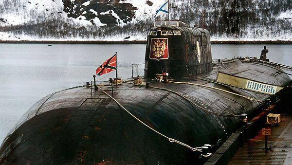 Tàu ngầm Kursk tại căn cứ quân sự ở Vidyaevo - Sputnik Việt Nam