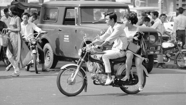 Trên đường phố Sài Gòn trong thời chiến tranh Việt Nam - Sputnik Việt Nam