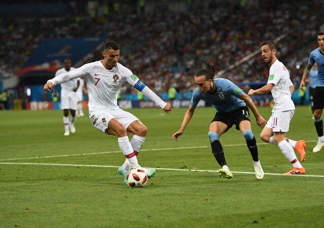 Trận đấu mở màn World Cup giữa Uruguay và Bồ Đào Nha