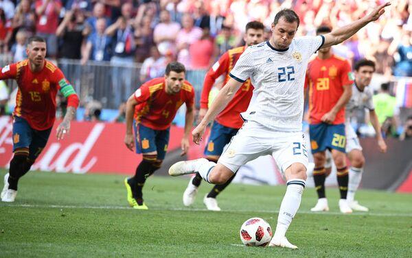 Trận đấu World Cup giữa đội tuyển Tây Ban Nha và Liên Bang Nga - Sputnik Việt Nam