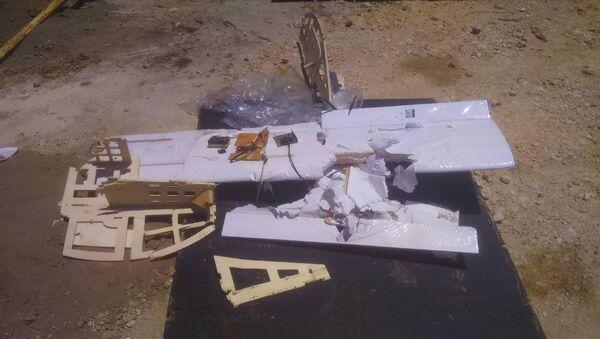 """Máy bay không người lái """"lạ"""" bay trên căn cứ Nga được chế tạo với công nghệ phương Tây - Sputnik Việt Nam"""