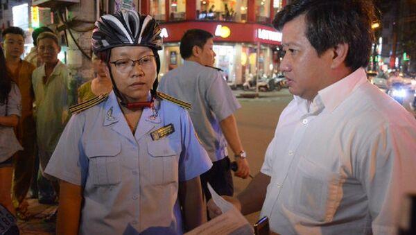Phó chủ tịch quận 1 Đoàn Ngọc Hải - Sputnik Việt Nam