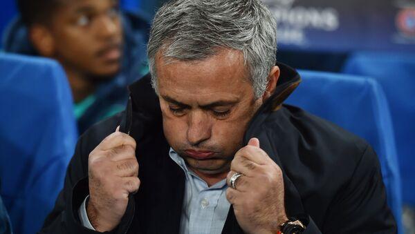 Huấn luyện viên trưởng của đội Manchester United Jose Mourinho - Sputnik Việt Nam