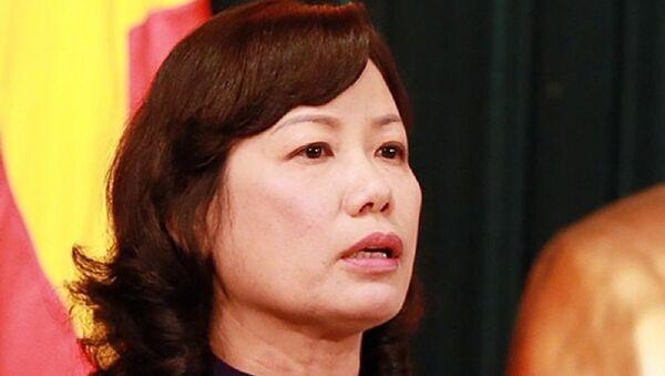 Bà Ung Thị Xuân Hương, Chánh án TAND TP.HCM  - Sputnik Việt Nam