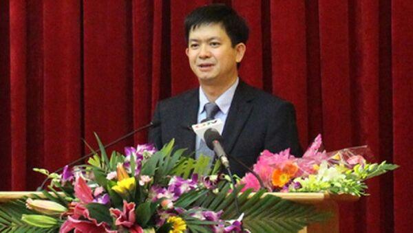 Ông Lê Quang Tùng được bổ nhiệm làm Thứ trưởng Bộ Văn hóa, Thể thao và Du lịch. - Sputnik Việt Nam