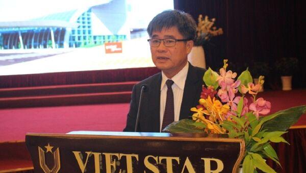 Tổng Giám đốc Tổng Công ty Cảng hàng không Việt Nam Lê Mạnh Hùng - Sputnik Việt Nam