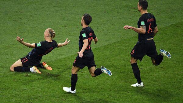 Domagoj Vida và đội tuyển Croatia - Sputnik Việt Nam
