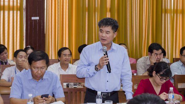 Ông Lê Mạnh Hùng – Tổng Giám đốc Tổng công ty Cảng Hàng không Việt Nam (ACV) - Sputnik Việt Nam