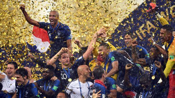 Lễ long trọng trao giải thưởng cho các cầu thủ của World Cup 2018 - Sputnik Việt Nam