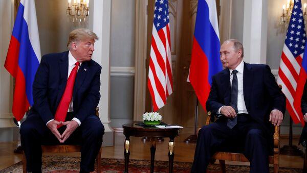 Cuộc gặp gỡ giữa Vladimir Putin và Donald Trump - Sputnik Việt Nam