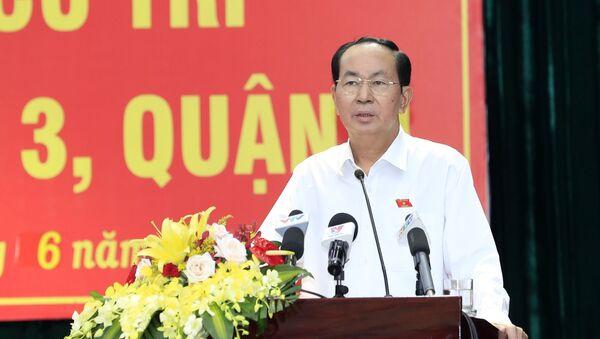 Đại biểu Trần Đại Quang hứa sẽ báo cáo Quốc hội và xử lý các vấn đề thuộc trách nhiệm được giao - Sputnik Việt Nam