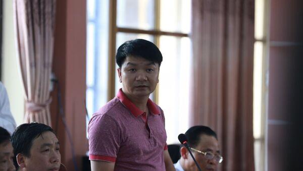 """Đại diện Tổ công tác Bộ GD&ĐT cho biết: """"Chỉ trong khoảng thời gian hơn 2 giờ đồng hồ, ông Lương đã thao tác toàn bộ dữ liệu, mở khóa niêm phong, rút bài ở các túi sau đó tẩy, xóa và sửa theo đáp án cụ thể…"""" - Sputnik Việt Nam"""