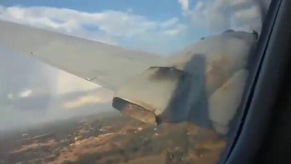 Ở Nam Phi, hành khách trên máy bay đang rơi  quay video khoảnh khắc rơi xuống - Sputnik Việt Nam