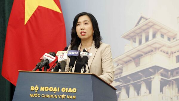 Người phát ngôn Bộ Ngoại giao Lê Thị Thu Hằng - Sputnik Việt Nam