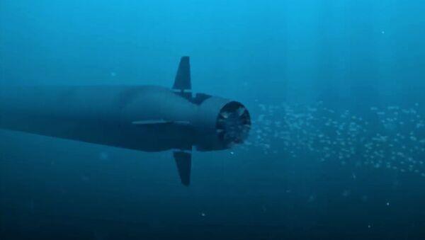 """Tàu ngầm hạt nhân không người lái """"Poseidon"""" - Sputnik Việt Nam"""
