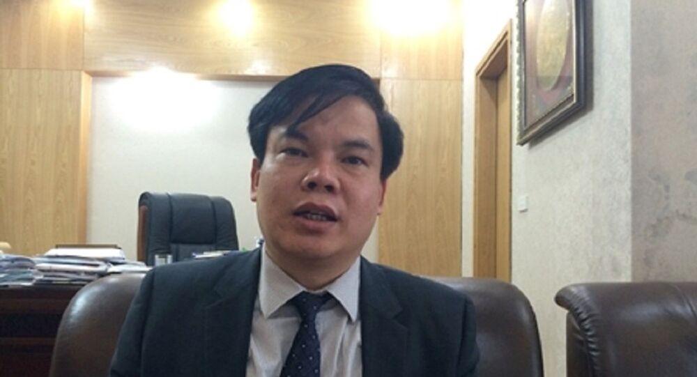 Ông Lê Đình Vinh, người từng trúng tuyển chức Hiệu trưởng ĐH Luật Hà Nội
