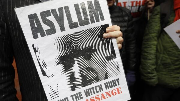 Julian Assange - Sputnik Việt Nam
