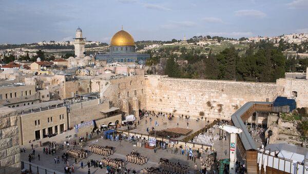 Bức tường Than khóc ở Jerusalem, Israel - Sputnik Việt Nam
