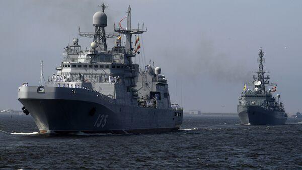 Tàu đổ bộ cỡ lớn Ivan Gren - Sputnik Việt Nam