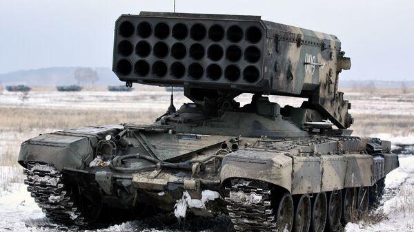 Hệ thống phun lửa hạng nặng (TOS-1) Buratino - Sputnik Việt Nam