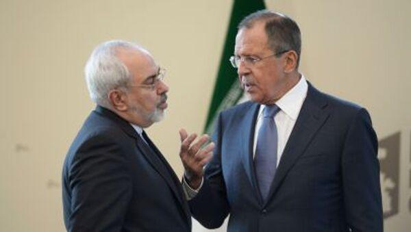 Sergey Lavrov và Mohammad Zarif - Sputnik Việt Nam