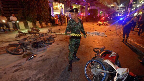 Vụ nổ ở Thái Lan - Sputnik Việt Nam