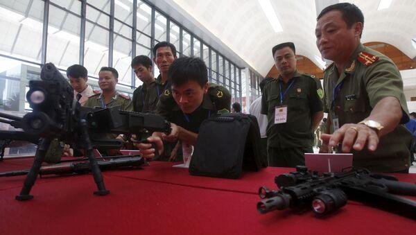Trình diễn vũ khí Israel CornerShot tại Việt Nam - Sputnik Việt Nam