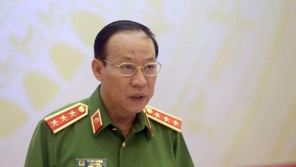 Thượng tướng Lê Quý Vương - Sputnik Việt Nam