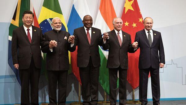 Lãnh đạo BRICS - Sputnik Việt Nam