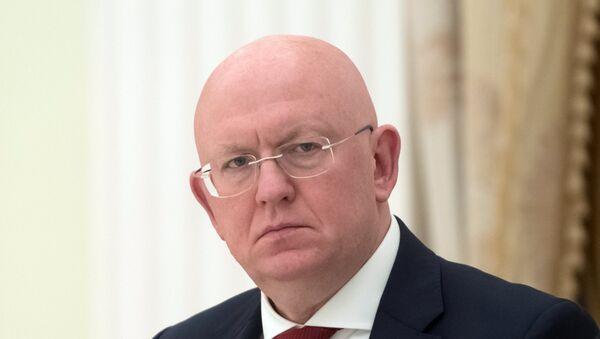 Đại diện thường trực của Liên bang Nga tại Liên Hợp Quốc Vasily Nebenzia - Sputnik Việt Nam