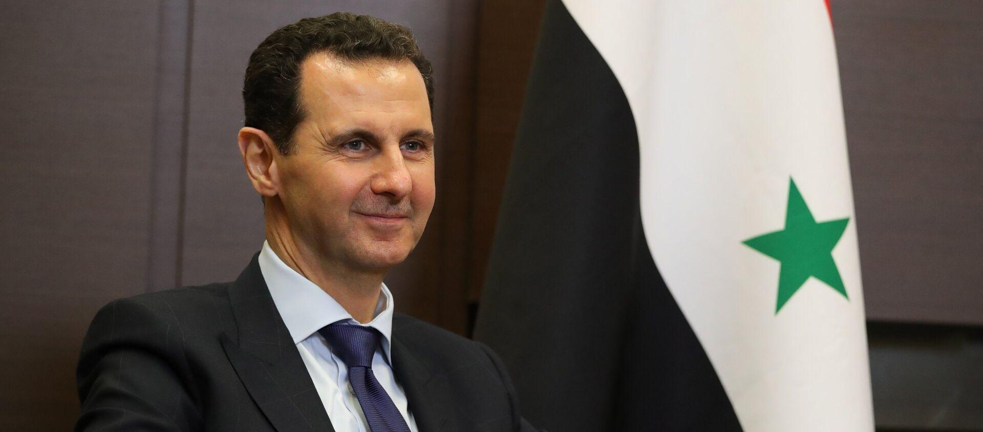 Tổng thống Syria Bashar Assad - Sputnik Việt Nam, 1920, 28.05.2021