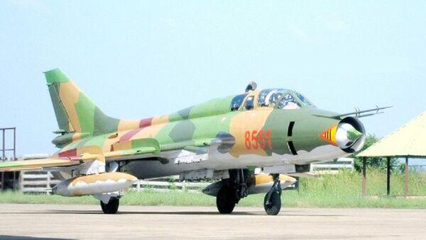 Cường kích Su-22UM3K của Việt Nam ở góc nhìn chính diện - Sputnik Việt Nam