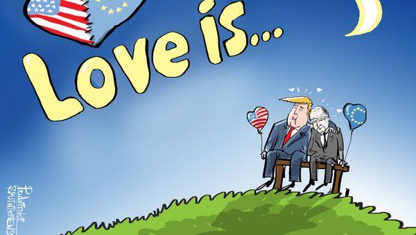 Tình yêu nghĩa là...tránh khỏi cuộc chiến thương mại - Sputnik Việt Nam