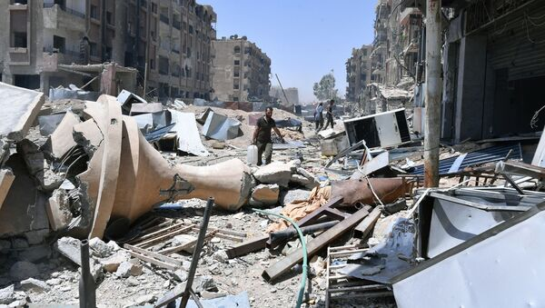 Syria, Damascus - Sputnik Việt Nam