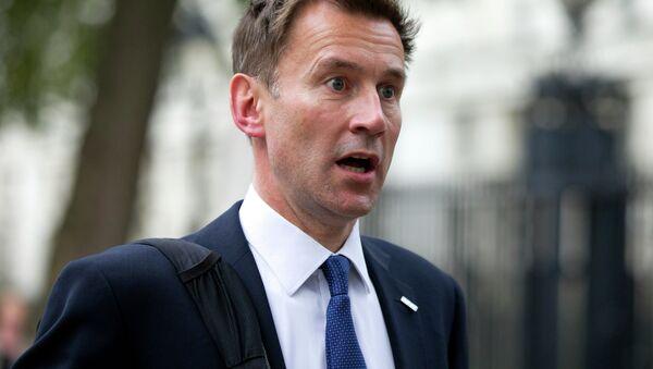 Bộ trưởng Ngoại giao Anh Jeremy Hunt - Sputnik Việt Nam