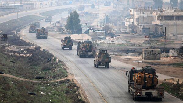 Quân đội Thổ Nhĩ Kỳ ở Idlib, Syria - Sputnik Việt Nam