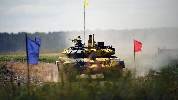 Đội lính tăng Việt Nam trên đường đua Tank Biathlon - Sputnik Việt Nam