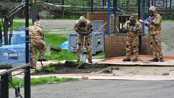 Vụ đầu độc cựu đại tá an ninh Sergey Skripal ở Salisbury, Anh - Sputnik Việt Nam