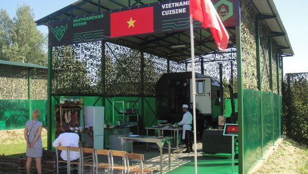 Các anh nuôi Việt Nam đang làm việc - Sputnik Việt Nam