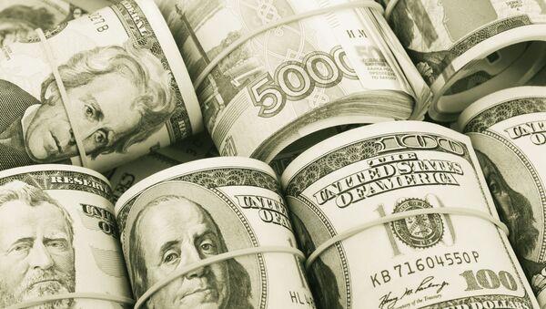 Tiền rúp và tiền đô la - Sputnik Việt Nam