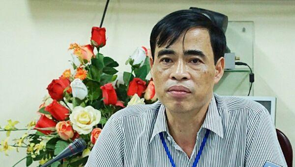 Ông Nguyễn Đức Lương, Phó giám đốc Sở GD-ĐT tỉnh Hòa Bình - Sputnik Việt Nam