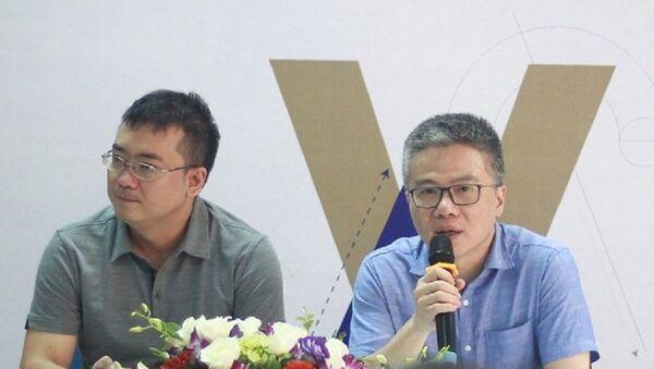 """GS Ngô Bảo Châu tại Lễ ký kết thành lập """"Tủ sách toán học VIASM"""" - Sputnik Việt Nam"""