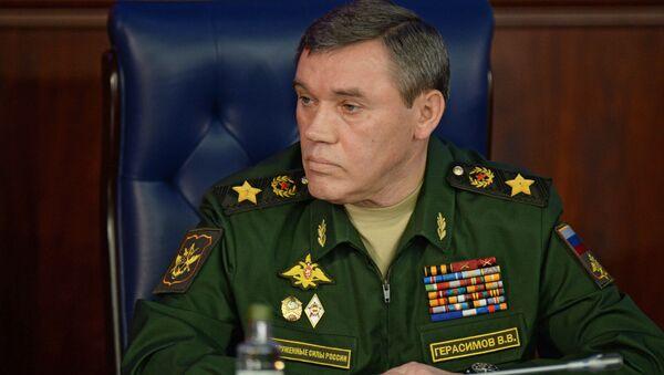 Tổng Tham mưu trưởng Các Lực lượng Vũ trang Nga Valery Gerasimov - Sputnik Việt Nam