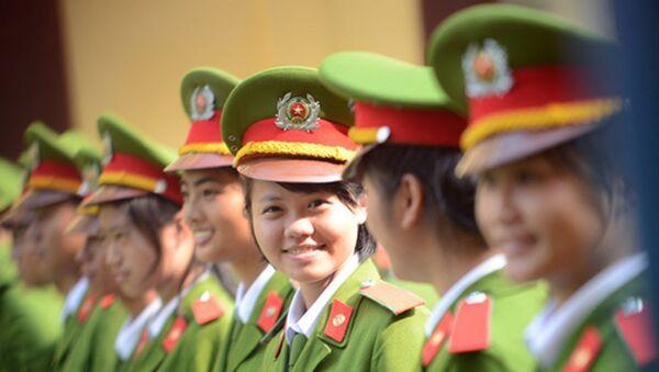 Nữ sinh Học viện CSND. - Sputnik Việt Nam