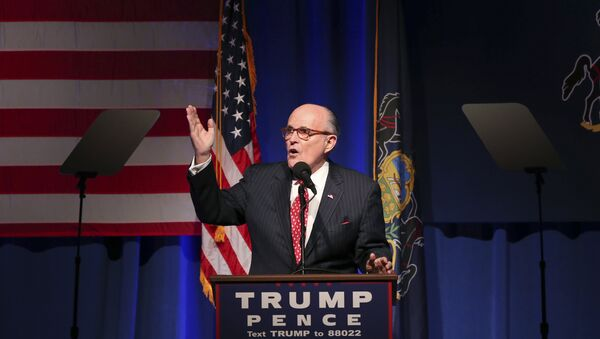 Rudolph Giuliani, luật sư của Tổng thống Mỹ Donald Trump - Sputnik Việt Nam