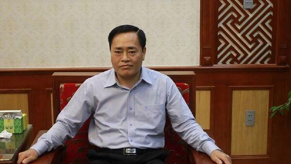Ông Hồ Tiến Thiệu, Phó Chủ tịch Ủy ban nhân dân tỉnh Lạng Sơn - Sputnik Việt Nam