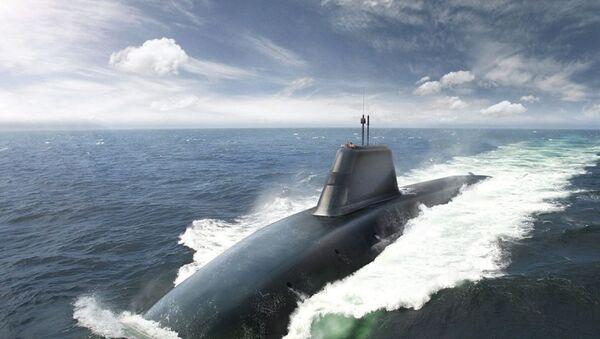 Tàu ngầm Successor - Sputnik Việt Nam